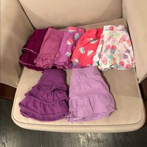 Lot of 5 Skirts 2T & 24Mo